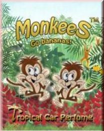 monkees go bananas